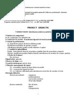 Proiect Didactic - Introducerea Cutelor in Model La Fusta Dreapta XII - A LIVADA