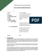 1. Plan Tutorial Institucional