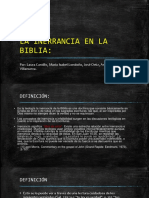 La Inerrancia en La Biblia