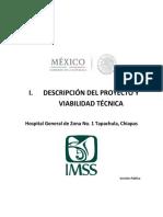 i Descripci n Del Proyecto y Viabilidad t Cnica Tapachula Versi n p Bli