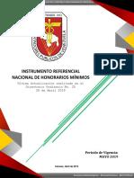 IRHM Directorio Ordinario 25 Del 26-04-2019 Aprobado Para MAYO 2019 NF