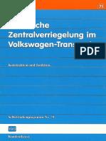 Volkswagen Transporter T3 - Elektrische Zv Im