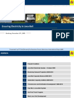 Ensuring Electricity in Java-Bali Rev