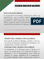Modelo de Excelencia Malcolm Baldrige