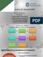 DIAGRAMA DE FLUJO,FENÓMENOS DE TRANSPORTE