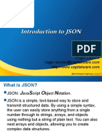 MQTC 2017 Introduction to JSON