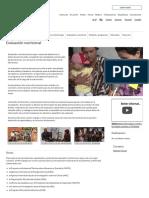 Nutrición_Organización de Las Naciones Unidas Para La Alimentación y La Agricultura