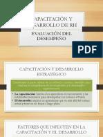 Capacitación y Desarrollo de Rh(1)