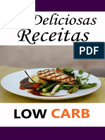 10 Deliciosas Receitas Low Carb