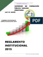 Regla Men to Institu c Ional 2015