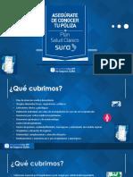 Presentación Plan Salud Clasico SURA