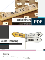 Lease Financing and Hybrid Financing