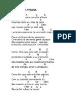 Algunas Canciones Con Notas