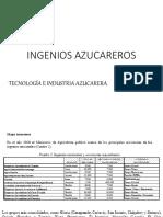 Ingenios Azucareros 2019