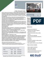 Airsolution 9314 Ficha Tecnica