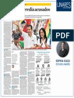 Las claves de la acusación fiscal contra Ollanta Humala y Nadine Heredia