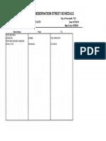 Pavement Repaving Schedule