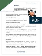 Misión  Estratégica de las organizaciones