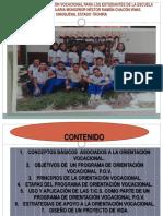 Programa de Orientación Vocacional Para Los Estudiantes de La Escuela Tècnica Agropecuaria Monseñor Nestor Ramòn Chacón Vivas