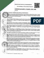 RESOLUCION DE ALCALDIA MDI PROGRAMA SEGREGACION EN LA FUENTE