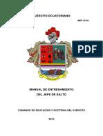 01. Manual de Entrenamiento Del Jefe de Salto