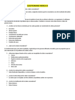 Cuestionario Merca III