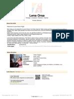 [Free Scores.com] Orsa Lena Three Tangos 118677