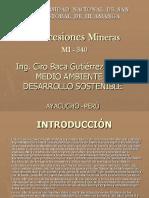 Conseciones Mineras Petitorio Minero2016