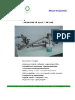 Manual de llenadora PF 1000
