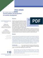 Problemas y Perspectivas Actuales Del Desarrollo Económico