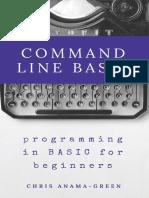 Command Line BASIC - Chris Anama-Green