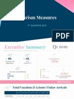Quarter Tourism Measures Q1 19 PUBLIC
