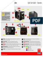 Barco Dp2k Quick Start Guide for Operators English