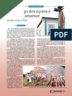 Arquipélago Dos Açores e Litoral Catarinense - Século XVIII a XXI