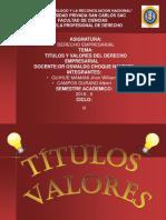 Titulos y Valores Espo-1