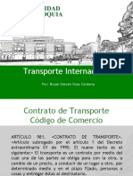 Transporte Interncional