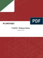 Fortios v5.6.8 Release Notes