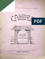 Caminul anul II, nr. 4, iunie - august 1952