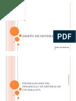 Diseño de Sistemas Clase 1