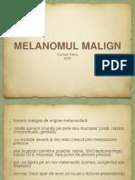 Melanom Malign LP 2016
