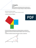 Resolución de Triángulos Rectángulos y Problemas en Contexto
