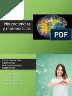 Neurociencias y Matemáticas