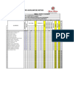 Registro 2019 - 4to - Primaria