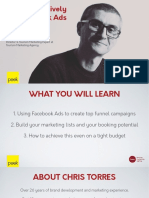 How to Effectively Use Facebook Ads (on Any Budget) - Chris Torres