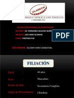Caso Clinico Protesis Fija
