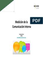 medición comunicación interna