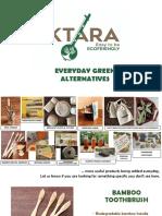 IKTARA Everyday Green Alternatives_Feb2019P