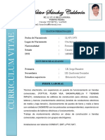 Cv Hector Sanchez 2019