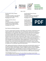 Letter to Senate Requesting Hearing on Fusion Centers