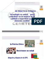 Manejo Guias de Practicas Clinicas